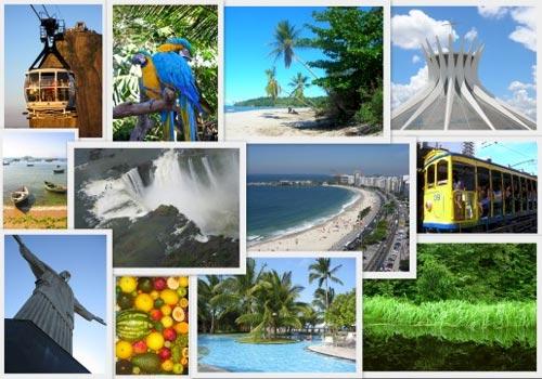 Бразилия - любопитни факти и забележителности
