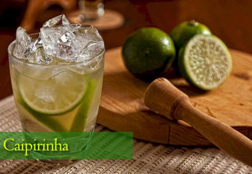 Caipirinha, bebida alcoholica tradicional de Brasil