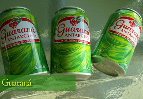 Guarana bebida brasileña