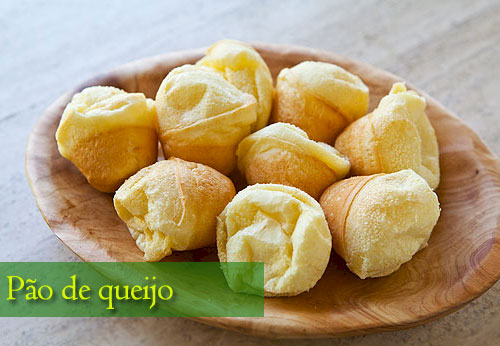 Pao de queijo - Pan de queso