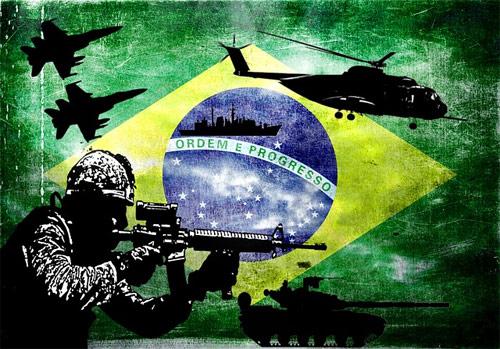 Cooperacion militar Brasil Guatemala