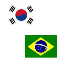 Relacines diplomaticas entre brasil y corea del sur