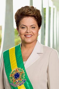 Dilma Roussef presidenta de Brasil