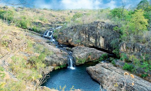 Rio Macaco - Planicie de Veadeiros