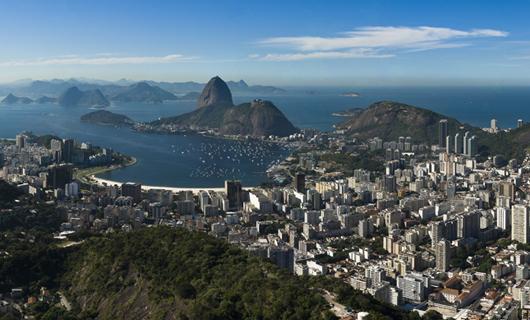 Vista aérea del Pan de Azúcar - Río de Janeiro (RJ)