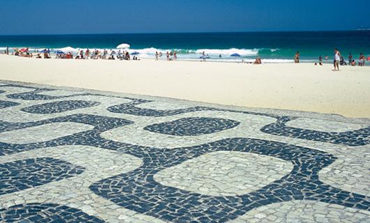 Vereda de la Playa de Ipanema - Río de Janeiro (RJ)