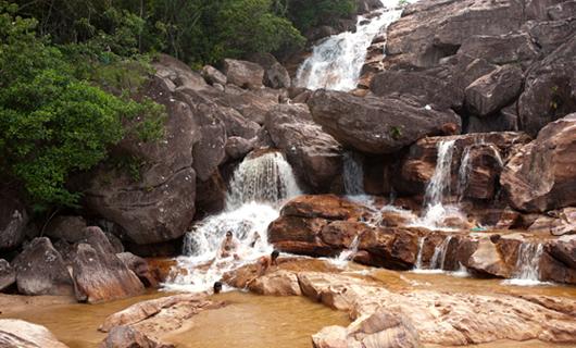 Cascada de Barata - Amajari (RR)